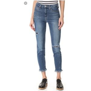 JOE'S JEANS Charlie High Rise Skinny Crop Sz25 NWT